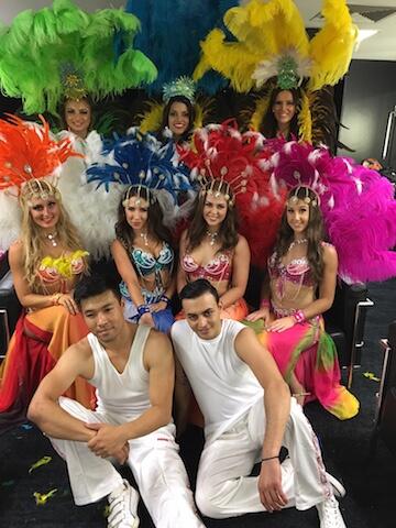 Brazilian Dancers VIC