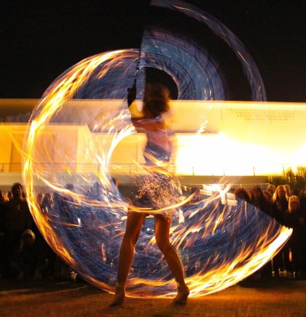 Fire Acro show
