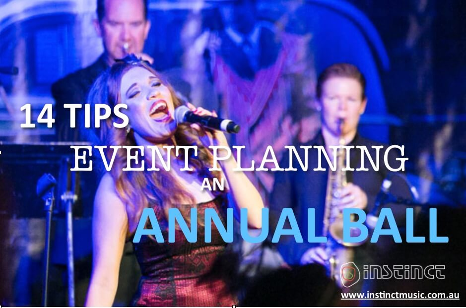 14 Tips on Event Planning an Annual Ball