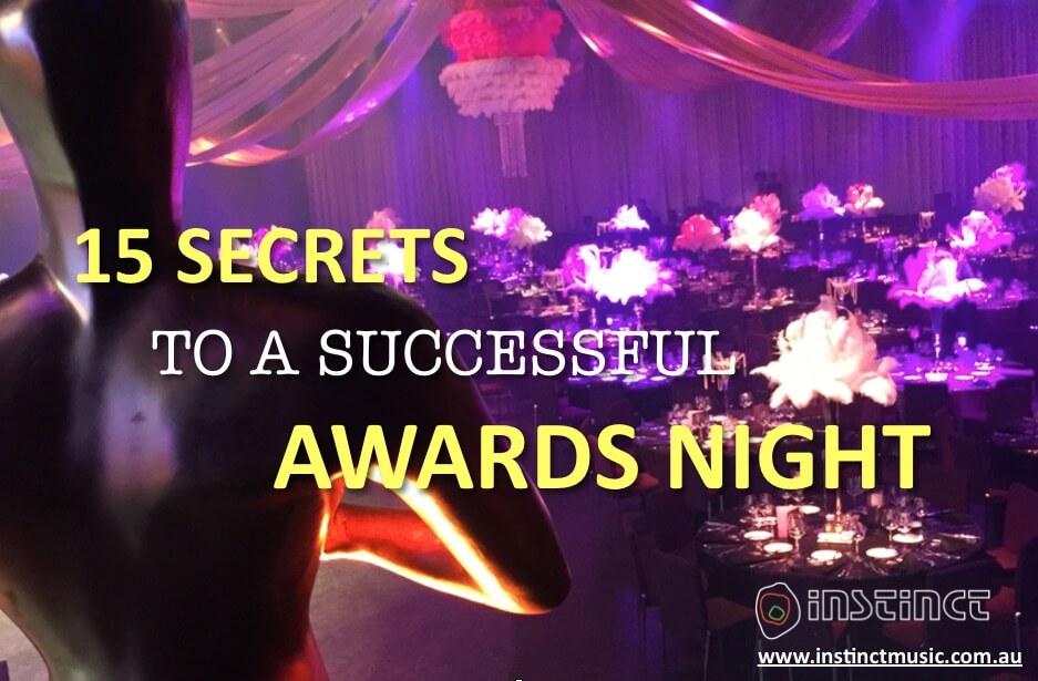 15 secrets to successful awards nights