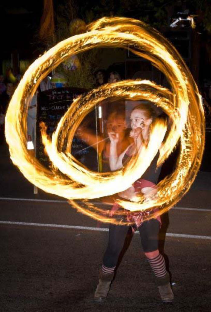 Fire & LED Performers