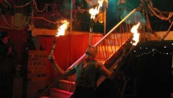 Fire-Circus-Acrobat