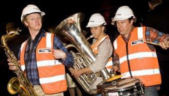 Musical Construction Workers