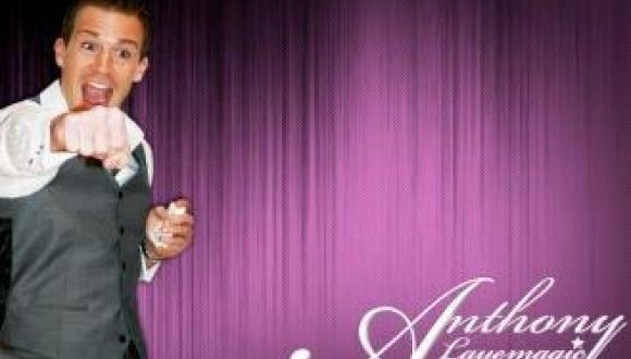 Magician Anthony Laye