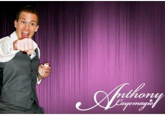 Magician Anthony Laye