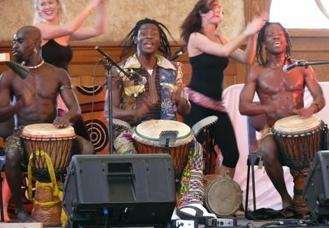 African Dance Troupe