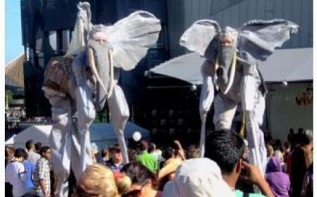 Dali Elephant On Stilts