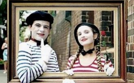French Mime Artists