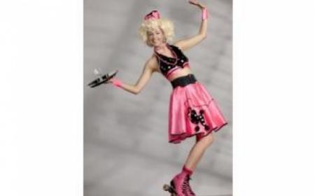 Disco Roller Girl