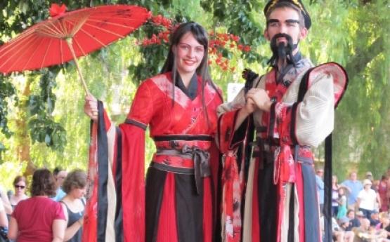 Chinese Costume Stilts