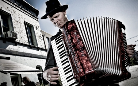Dave the Accordionist