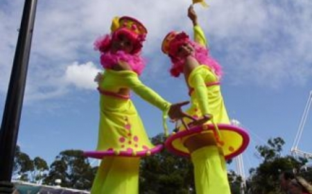 Fluoro Dollies – Stilts