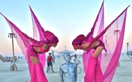 Hot Pinks on Stilts