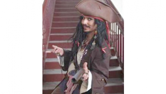 Jack Sparrow Impersonator QLD