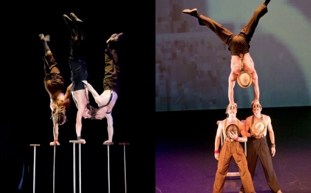 Trio Handstand