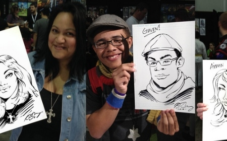Comic Caricatures