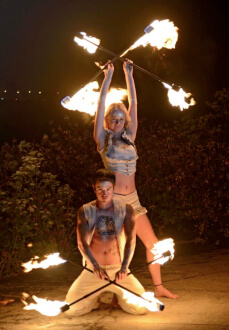 Duet Fire Dance