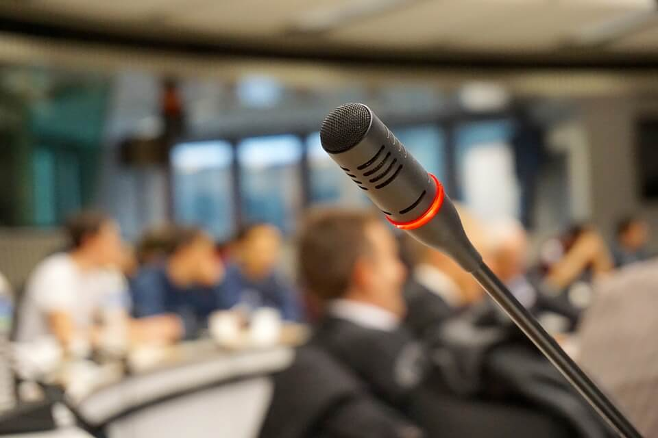 technical production for conferences