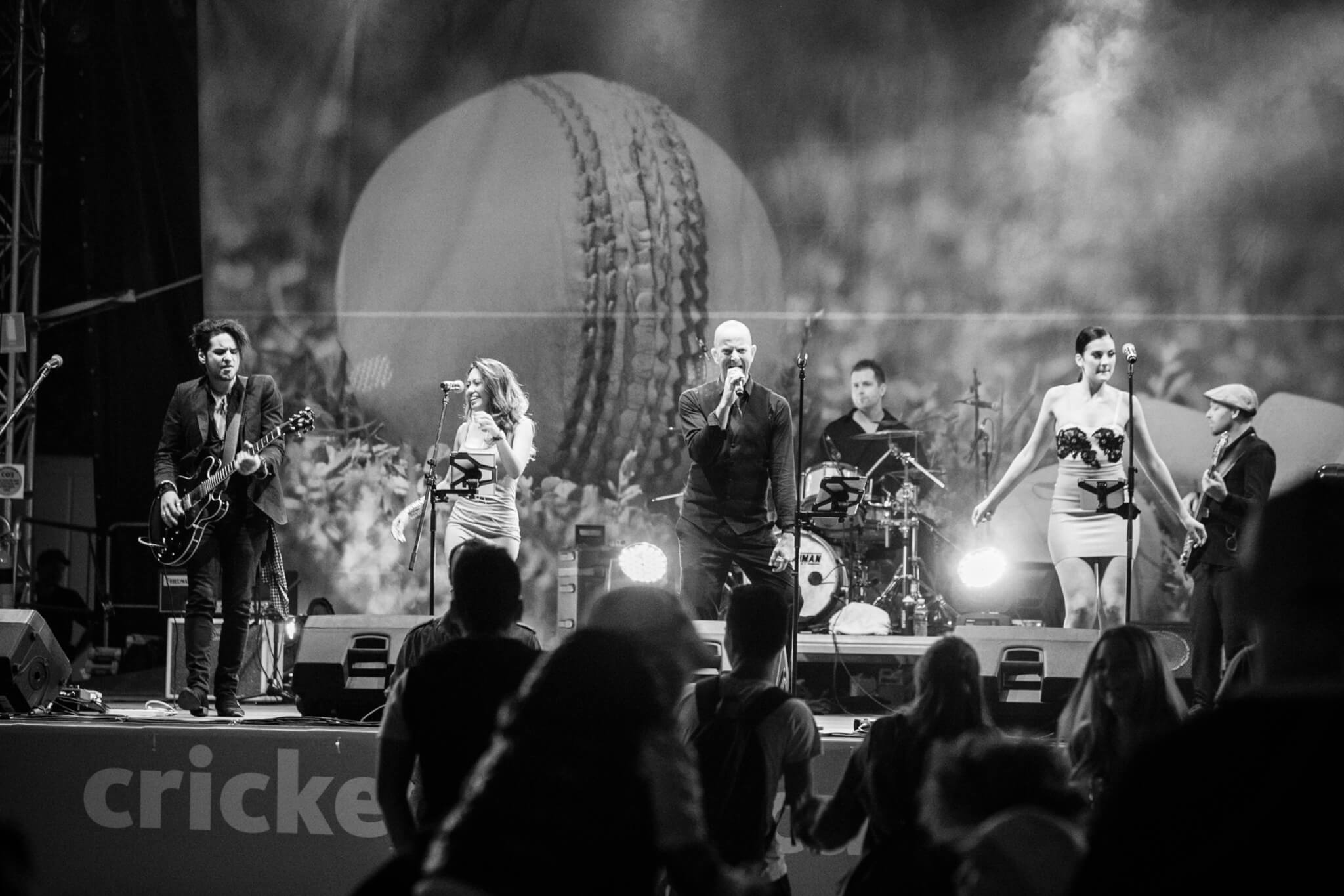 Chunky Jam world cup cricket-12 corporate cover band-wedding band-party band-melbourne