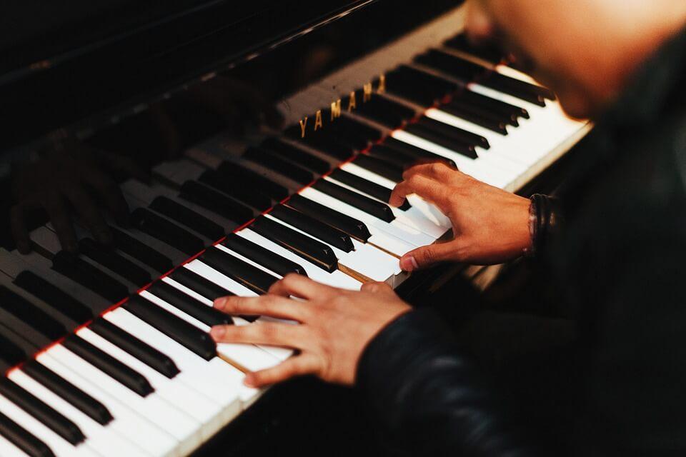 Classical music pianist piano