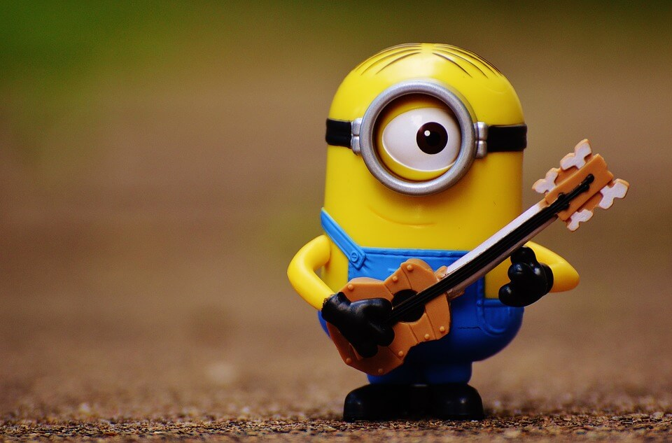 MINION GUITarist -COVER BAND DUDE