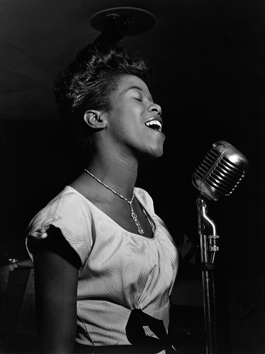 Sarah Vaughan- where did jazz come from