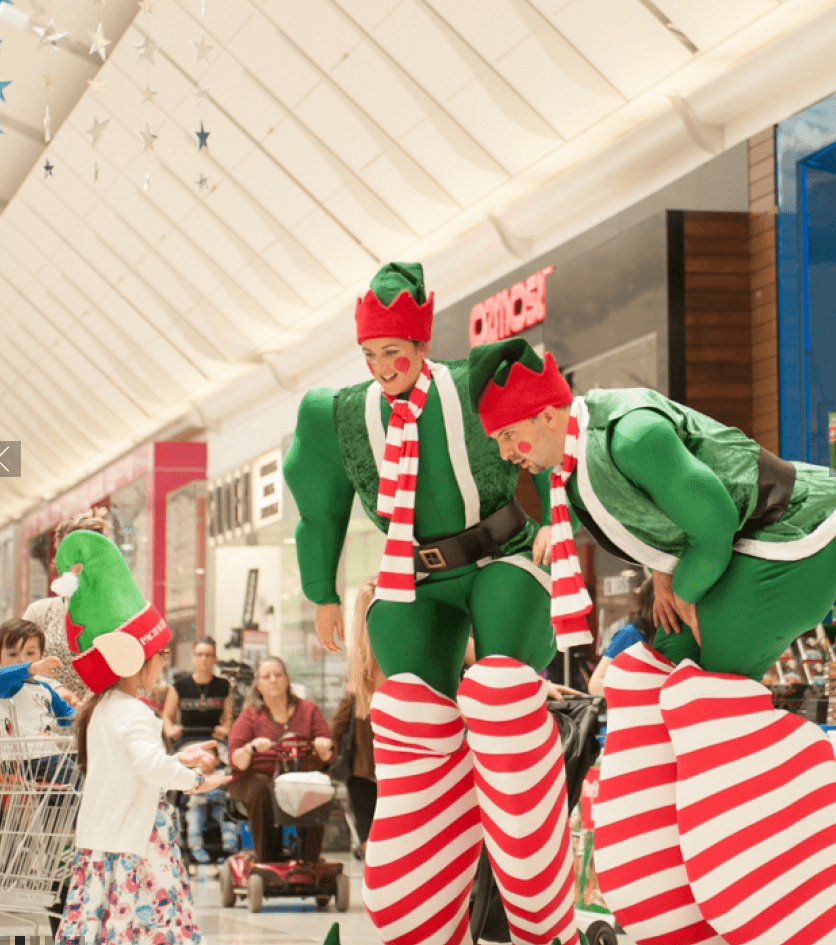 Bouncing Elves