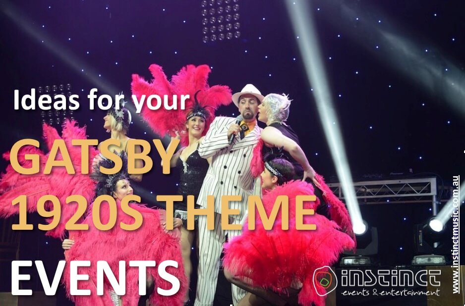 Ideas for your gatsby 1920s theme event
