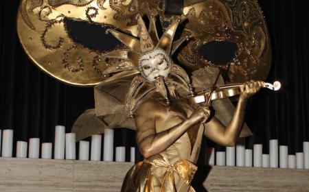 Masquerade Statues