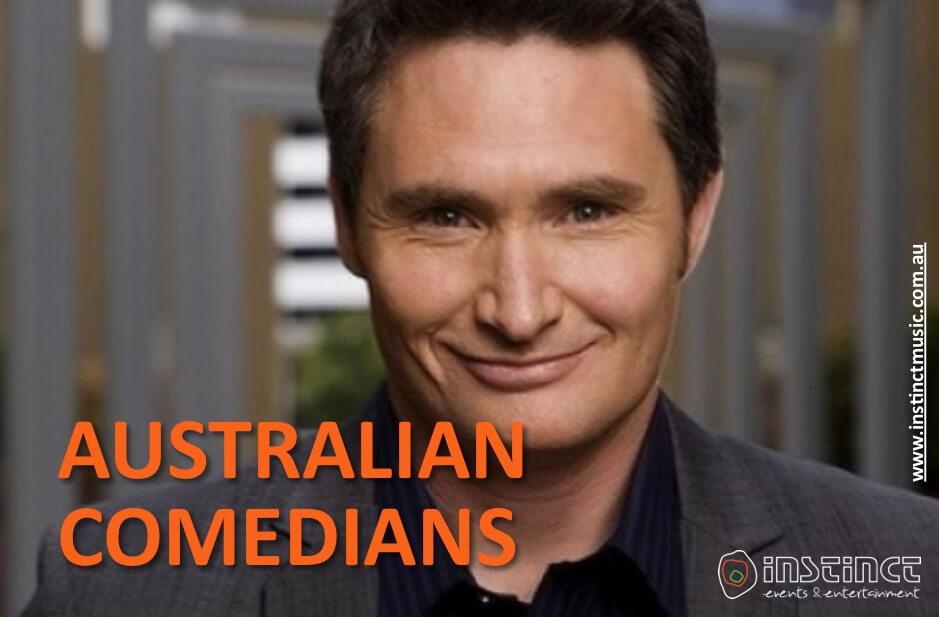 AUSTRALIAN COMEDIANS