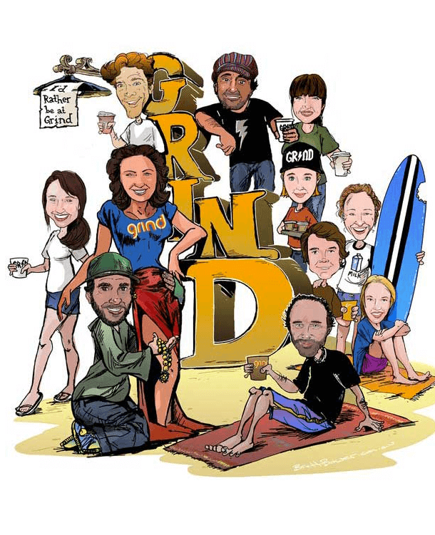 Digital Caricatures by Brett