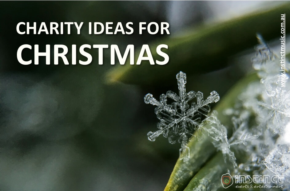 CHARITY IDEAS FOR CHRISTMAS
