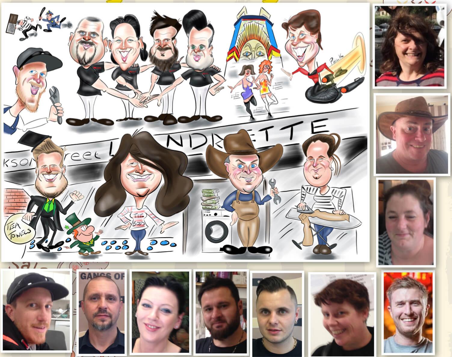 Digital Caricatures Melbourne
