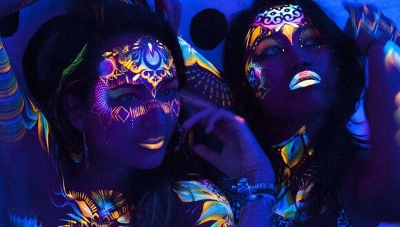 UV Face & Body Painting