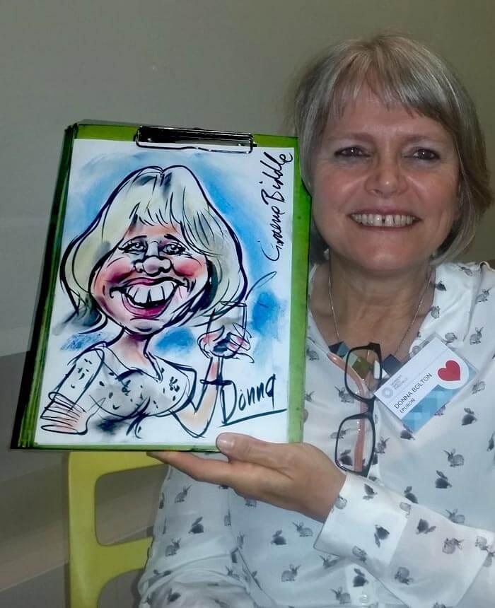 Graeme Biddle – Caricaturist