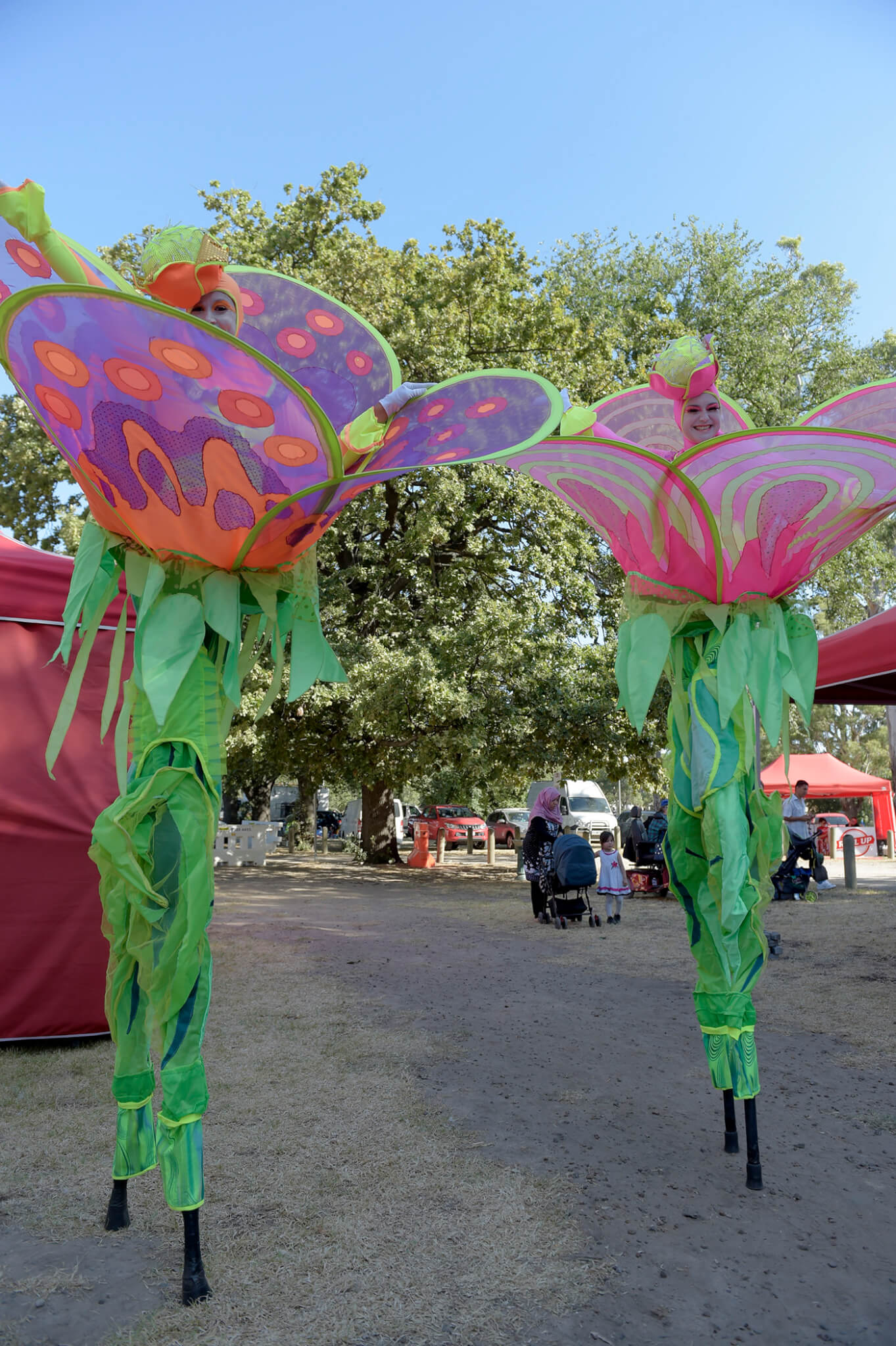 Flowers on Stilts