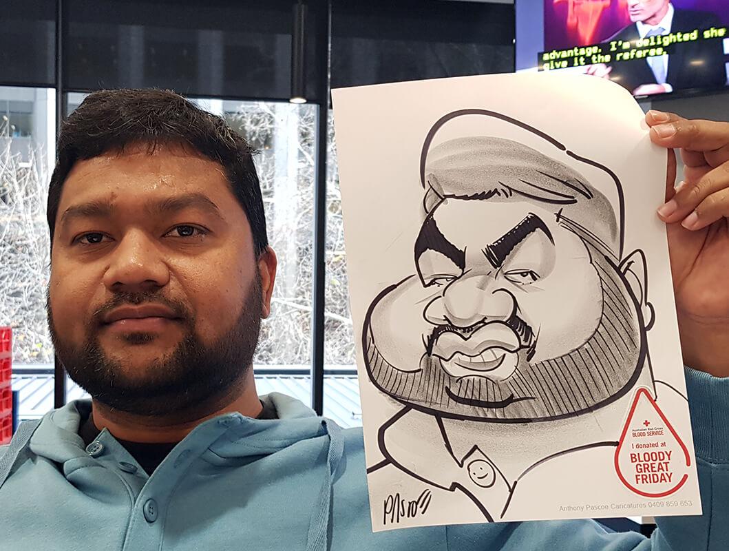 Anthony Pascoe – Caricaturist