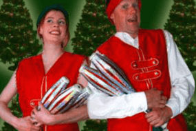 Christmas Jugglers