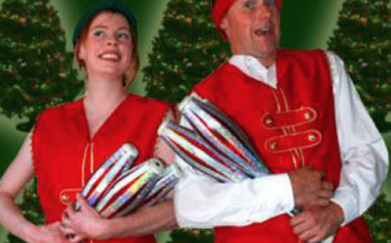 Christmas Jugglers