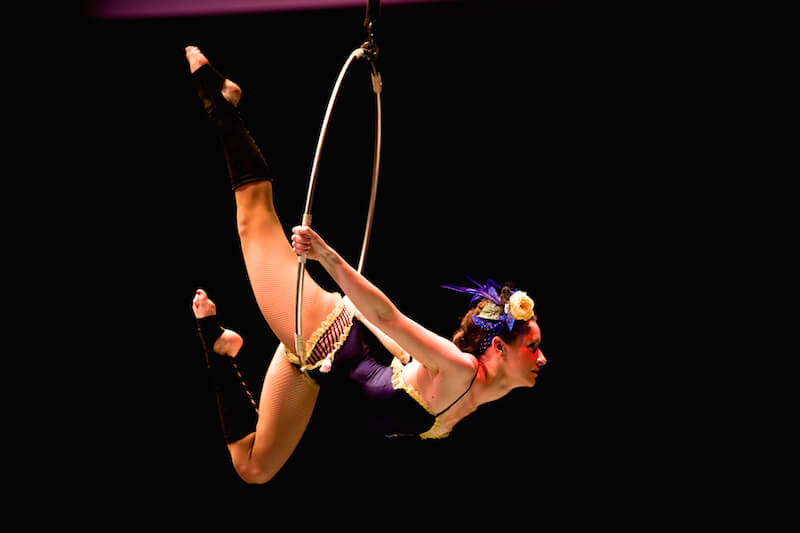 Circus Aerial by Laura