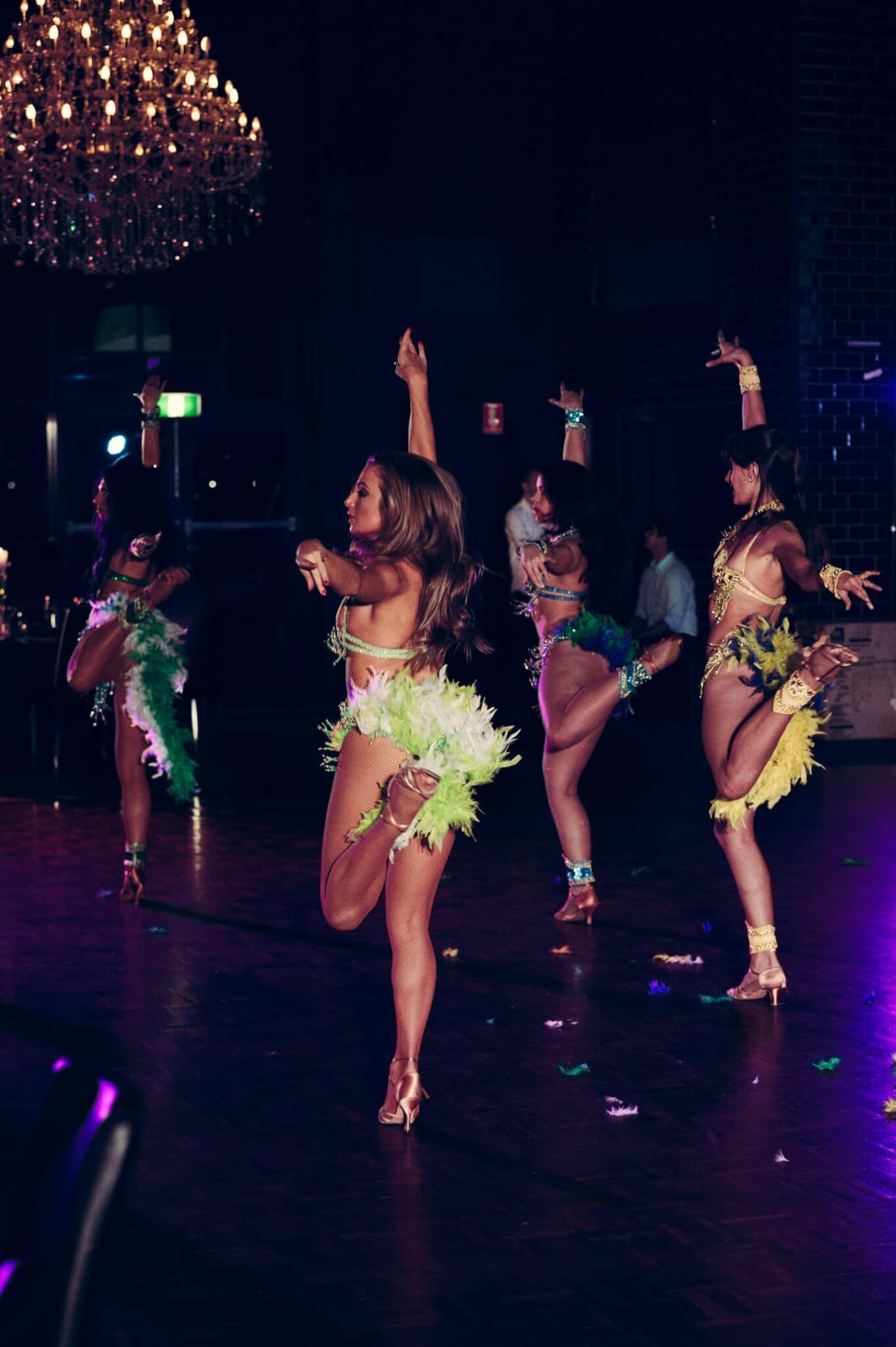SAMBA BRAZILIAN DANCERS