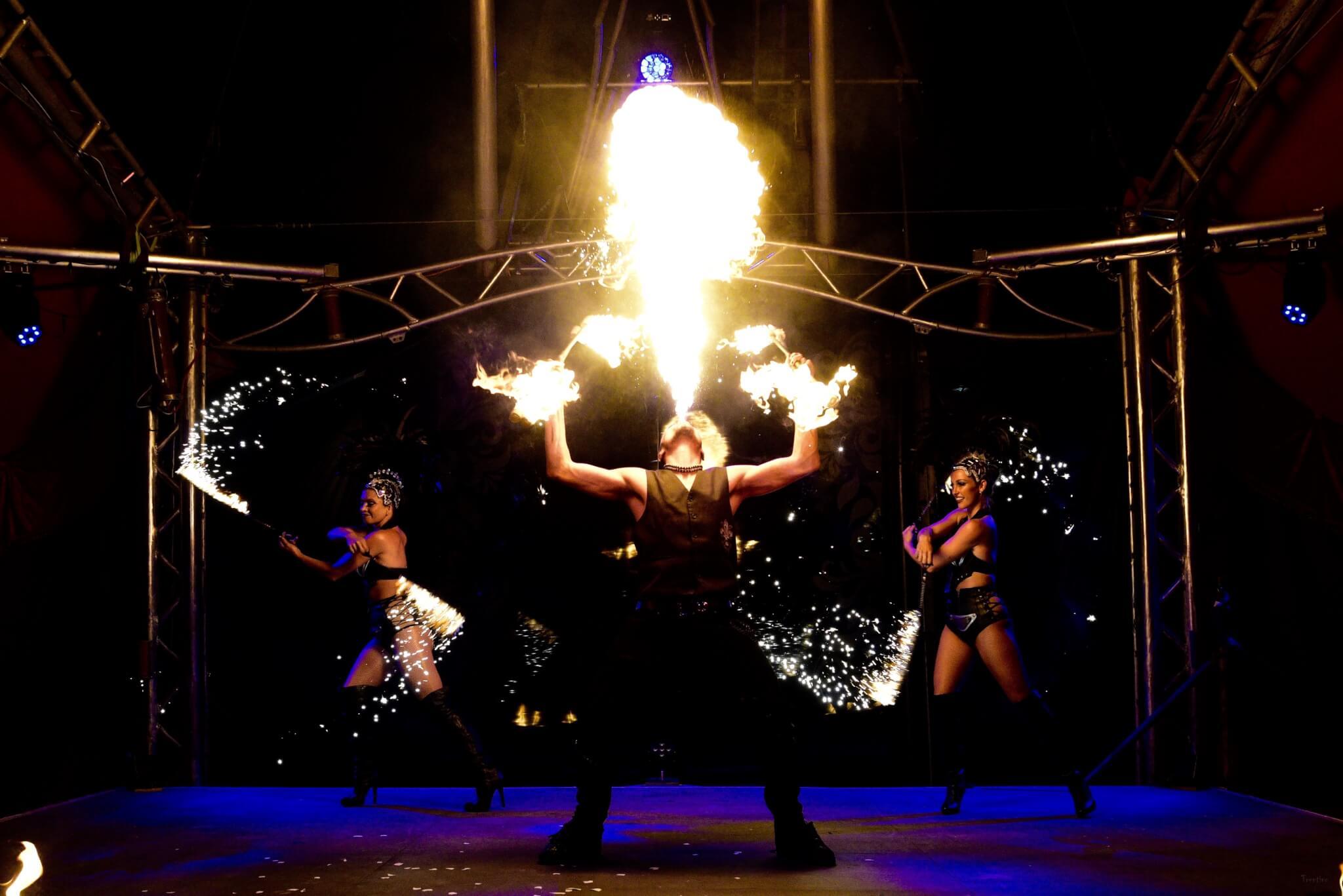 Liquid Fusion Fire Show