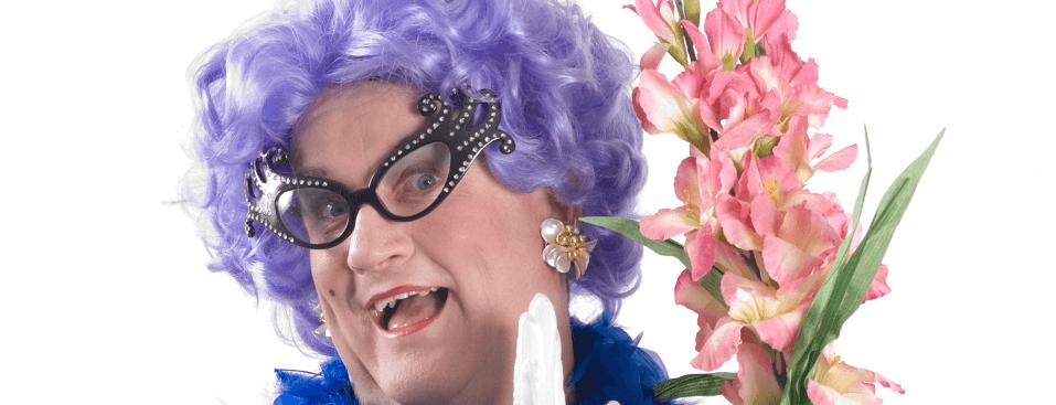 Dame Edna Impersonator