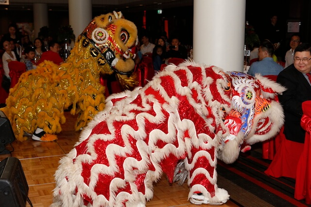 Chinese Lion Dance hire