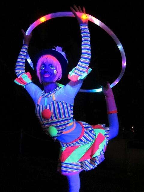 Glow Circus and UV Dancers