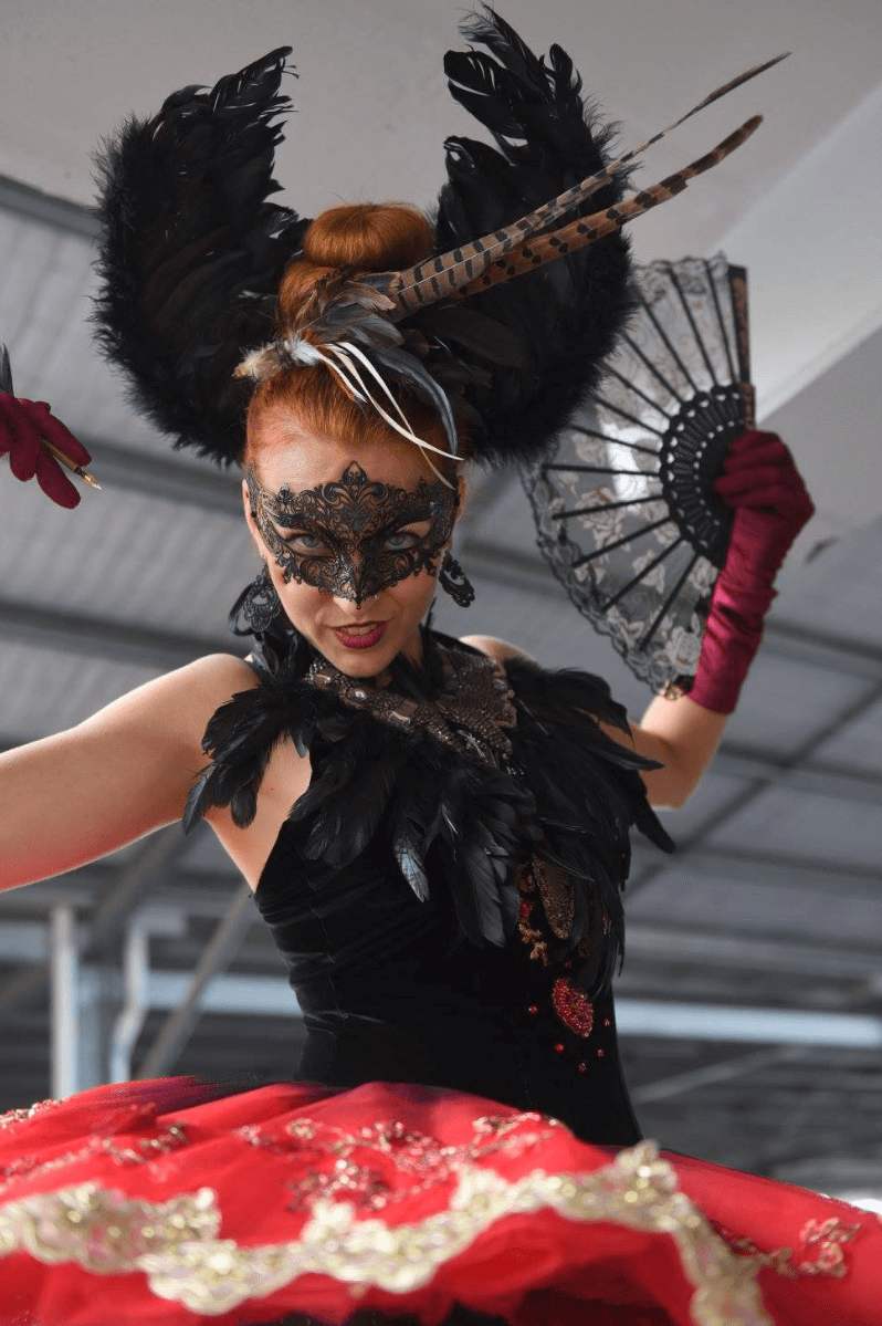 vintage masquerade dolls 1
