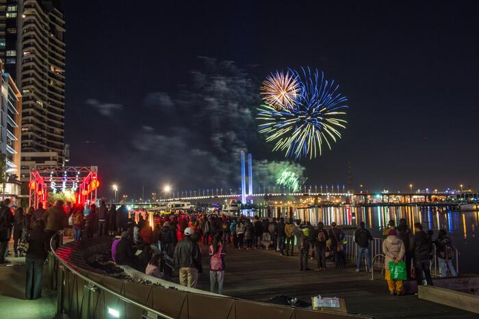 Docklands Fireworks 3