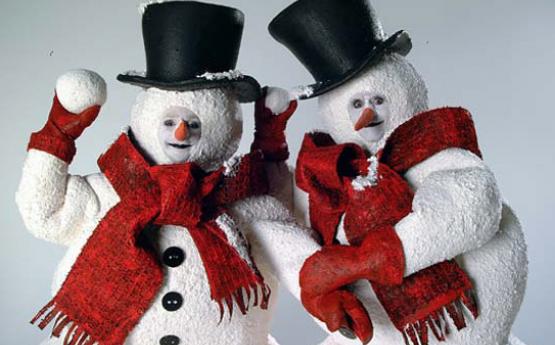 Snowman Mime