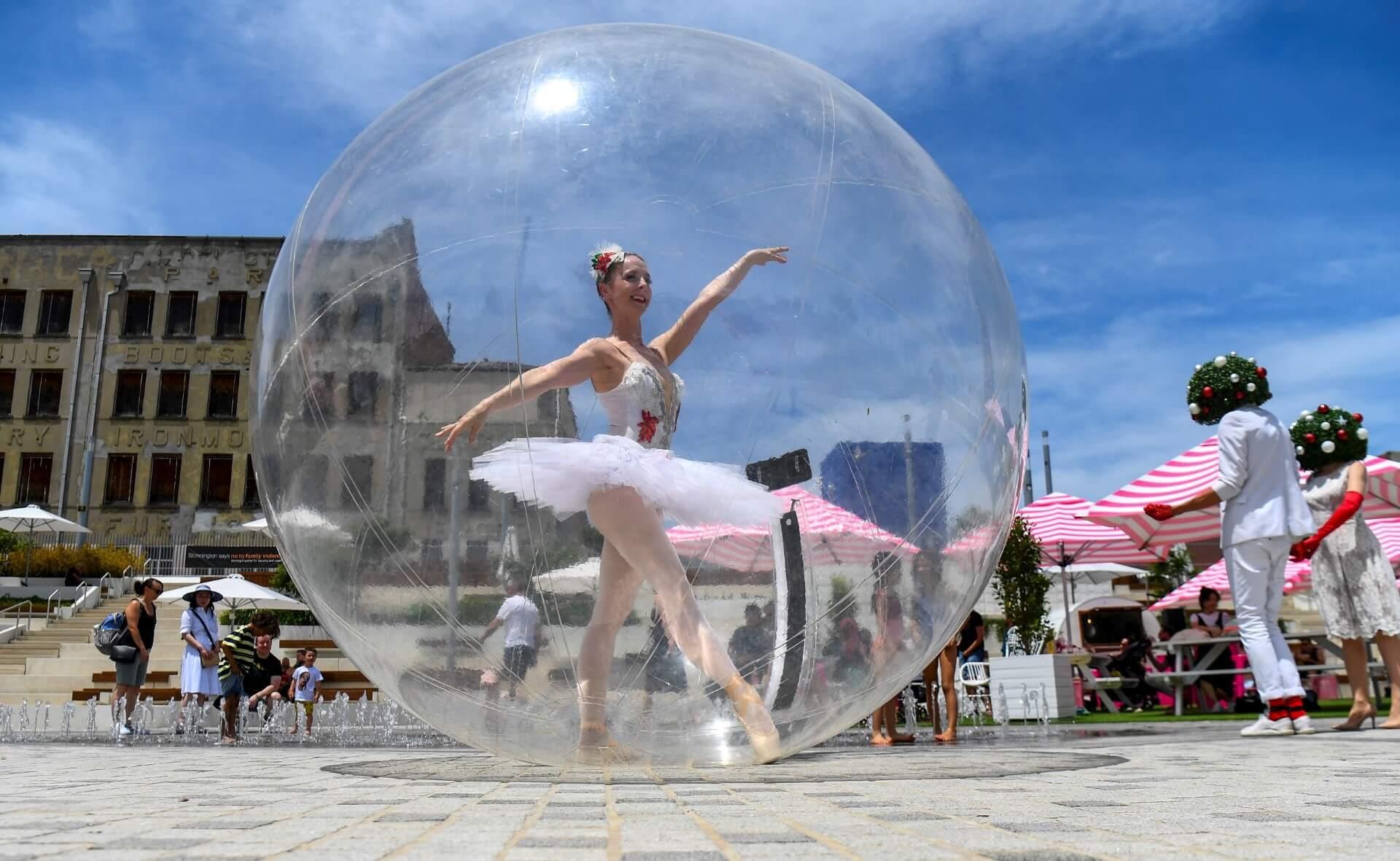 Dancing Angel   Ballerina in Orb