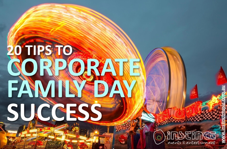 20 Tips to Corporate Family Day Success